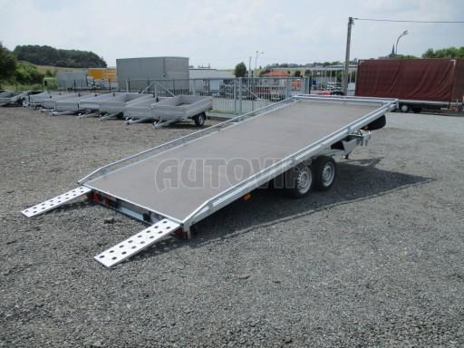 Hydraulicky sklopný přepravník AD 5 3,5T 5,17x2,09 PLATO * č.6