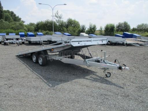 Hydraulicky sklopný přepravník AD 5 3,5T 5,17x2,09 PLATO * č.8