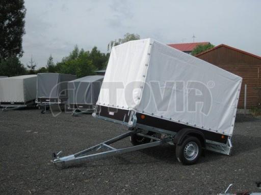 Sklopný přívěs s plachtou ZV 26 750kg N1 skl 2,50x1,30/1,53 č.3