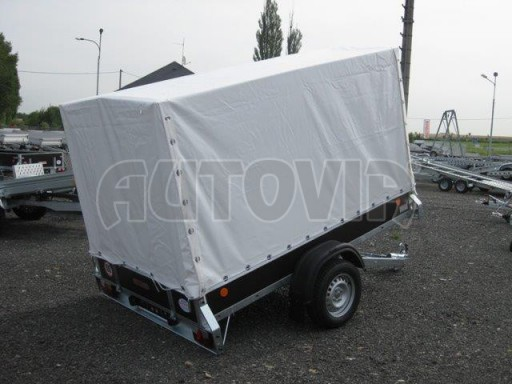 Sklopný přívěs s plachtou ZV 26 750kg N1 skl 2,50x1,30/1,53 č.5