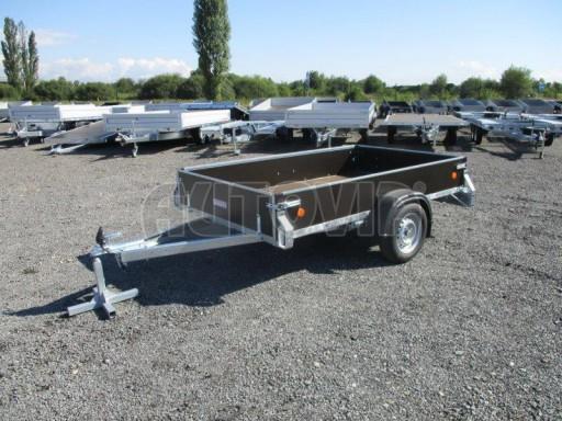 Překližkový přívěsný vozík ZV 27 750kg N1 2,50x1,48/0,35 LP POČ** č.1