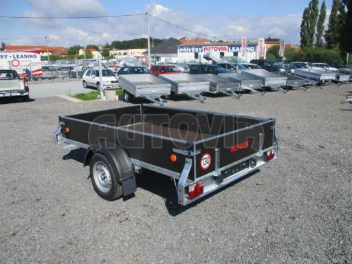 Překližkový přívěsný vozík ZV 27 750kg N1 2,50x1,48/0,35 LP POČ** č.5