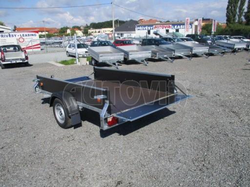 Překližkový přívěsný vozík ZV 27 750kg N1 2,50x1,48/0,35 LP POČ** č.4