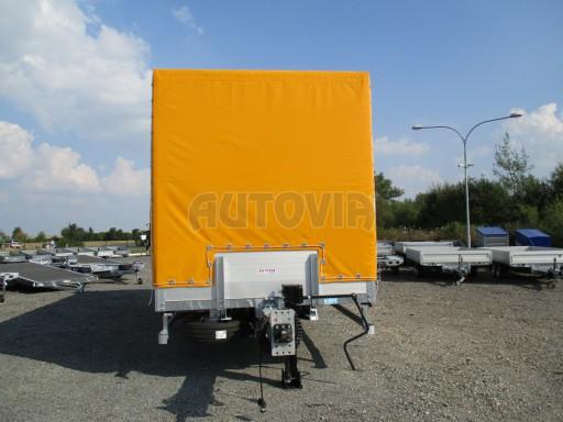 Nákladní přívěs vzduchem brzděný AVG 10T B1 6,50x2,48/2,70G el č.9