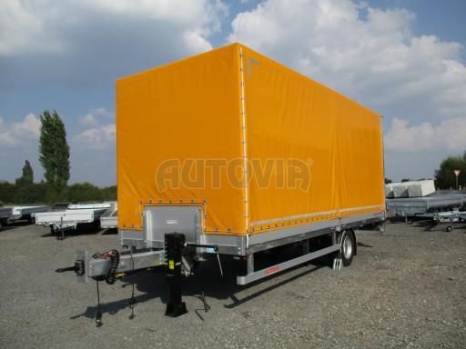 Nákladní přívěs vzduchem brzděný AVG 10T B1 6,50x2,48/2,70G el č.10