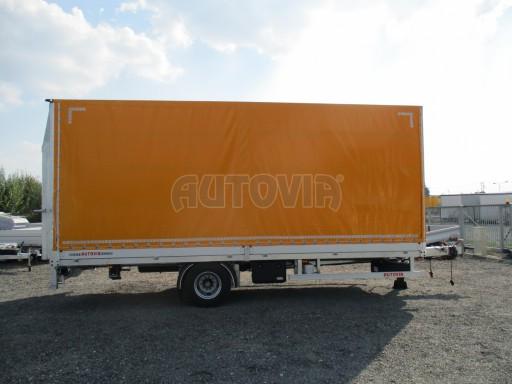 Nákladní přívěs vzduchem brzděný AVG 10T B1 6,50x2,48/2,70G el č.14