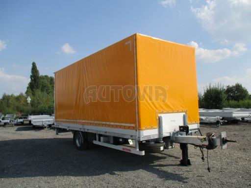 Nákladní přívěs vzduchem brzděný AVG 10T B1 6,50x2,48/2,70G el č.5