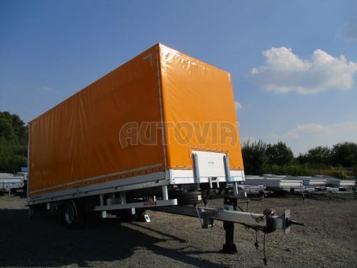 Nákladní přívěs vzduchem brzděný AVG 10T B1 6,50x2,48/2,70G el č.20