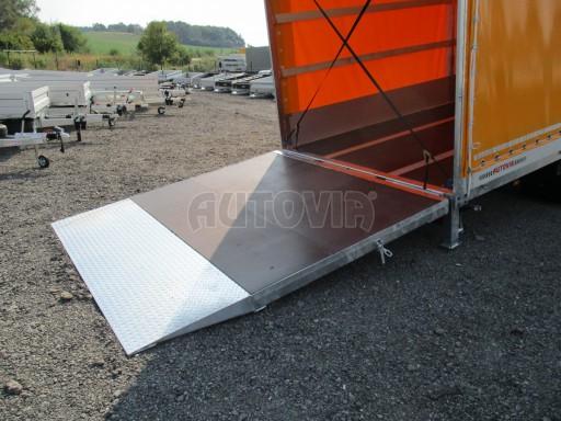 Nákladní přívěs vzduchem brzděný AVG 10T B1 6,50x2,48/2,70G el č.21