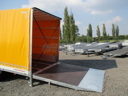 Nákladní přívěs vzduchem brzděný AVG 10T B1 6,50x2,48/2,70G el č.22