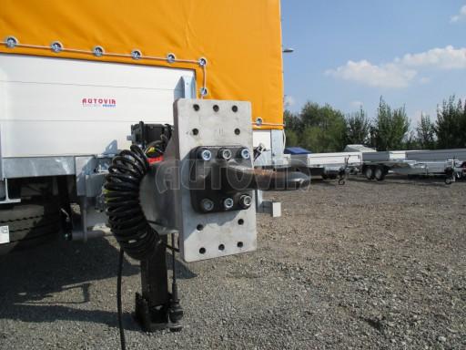 Nákladní přívěs vzduchem brzděný AVG 10T B1 6,50x2,48/2,70G el č.26