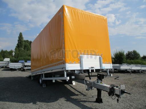 Nákladní přívěs vzduchem brzděný AVG 10T B1 6,50x2,48/2,70G el č.27