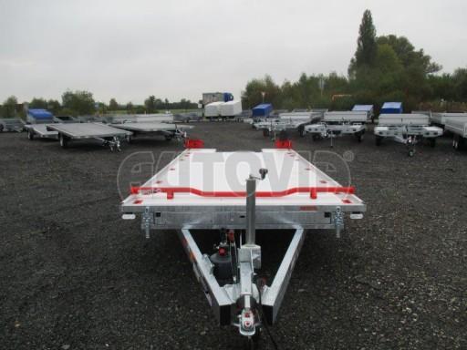 Přepravník automobilů s celohliníkovou ložnou plochou IM 2,7T 5,01x2,09 ALU č.5