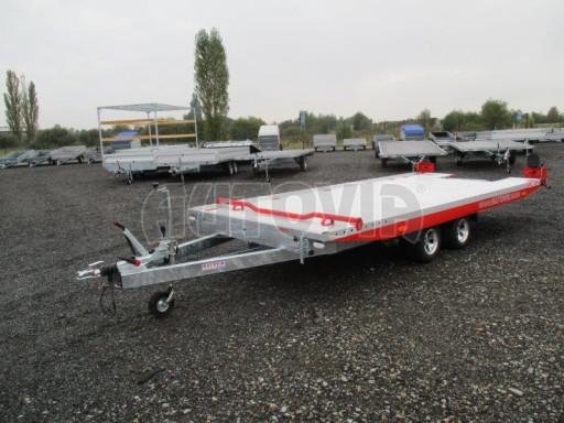 Přepravník automobilů s celohliníkovou ložnou plochou IM 2,7T 5,01x2,09 ALU č.3