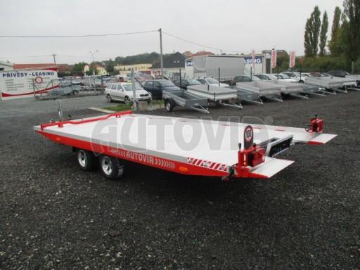 Přepravník automobilů s celohliníkovou ložnou plochou IM 2,7T 5,01x2,09 ALU č.7