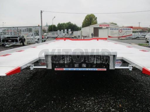 Přepravník automobilů s celohliníkovou ložnou plochou IM 2,7T 5,01x2,09 ALU č.8