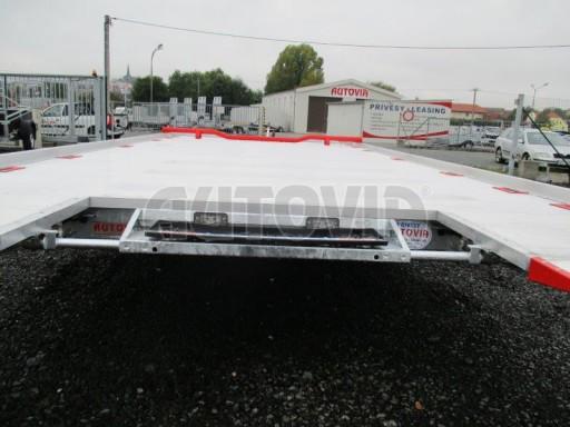 Přepravník automobilů s celohliníkovou ložnou plochou IM 2,7T 5,01x2,09 ALU č.9