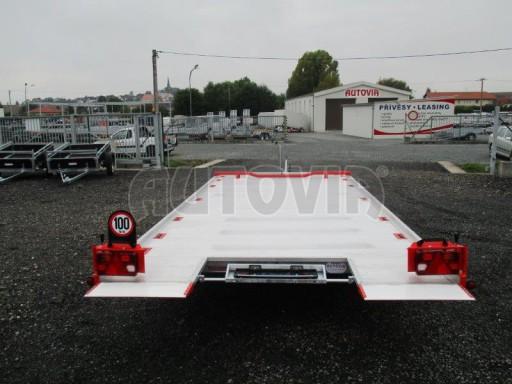 Přepravník automobilů s celohliníkovou ložnou plochou IM 2,7T 5,01x2,09 ALU č.10