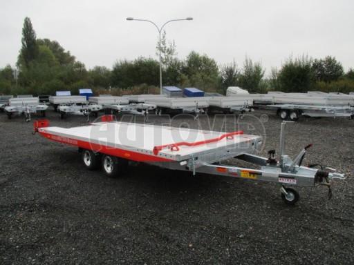 Přepravník automobilů s celohliníkovou ložnou plochou IM 2,7T 5,01x2,09 ALU č.14