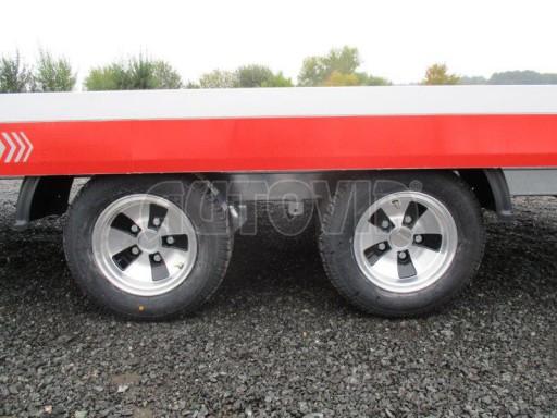 Přepravník automobilů s celohliníkovou ložnou plochou IM 2,7T 5,01x2,09 ALU č.15
