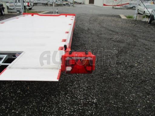 Přepravník automobilů s celohliníkovou ložnou plochou IM 2,7T 5,01x2,09 ALU č.16