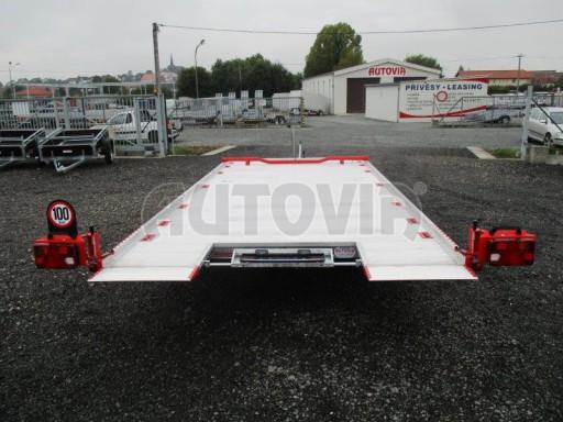 Přepravník automobilů s celohliníkovou ložnou plochou IM 2,7T 5,01x2,09 ALU č.17