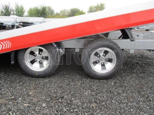 Přepravník automobilů s celohliníkovou ložnou plochou IM 2,7T 5,01x2,09 ALU č.20