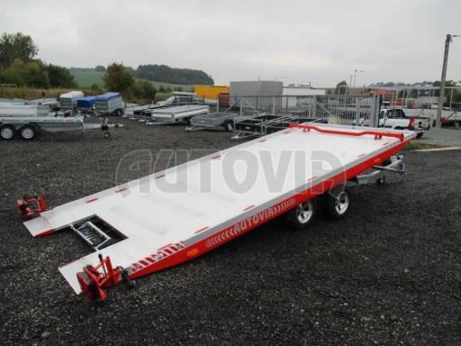 Přepravník automobilů s celohliníkovou ložnou plochou IM 2,7T 5,01x2,09 ALU č.1