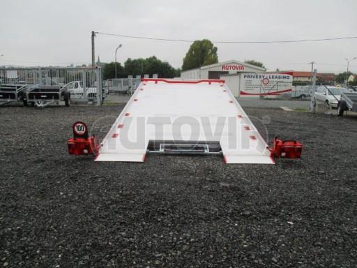 Přepravník automobilů s celohliníkovou ložnou plochou IM 2,7T 5,01x2,09 ALU č.21