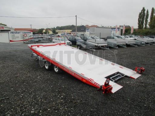 Přepravník automobilů s celohliníkovou ložnou plochou IM 2,7T 5,01x2,09 ALU č.22