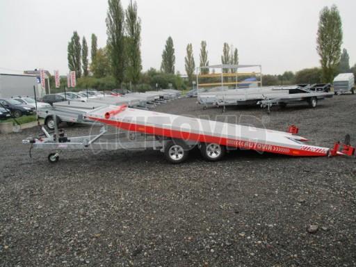 Přepravník automobilů s celohliníkovou ložnou plochou IM 2,7T 5,01x2,09 ALU č.2