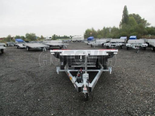 Přepravník automobilů s celohliníkovou ložnou plochou IM 2,7T 5,01x2,09 ALU č.24