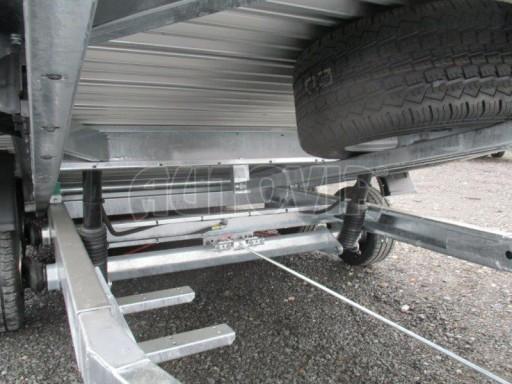 Přepravník automobilů s celohliníkovou ložnou plochou IM 2,7T 5,01x2,09 ALU č.26