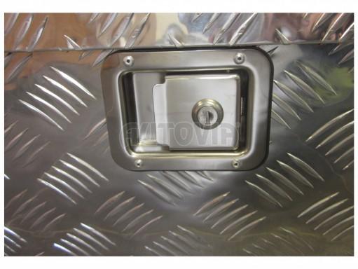 Bedna na nářadí 60 L hliníková, 760mm x 245mm x 330mm č.3
