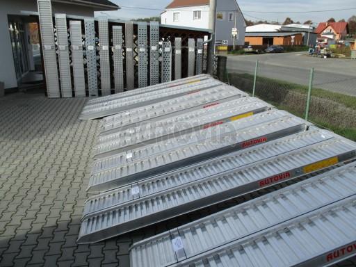 AL. nájezdy nosnost 400kg - 50.000kg  - skladem vice než 200ks! č.1