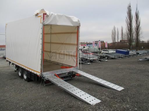 Hydraulicky sklopný přepravník VVA 6,0T 6,20x2,10/2,60* č.2
