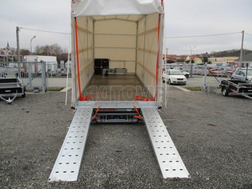 Hydraulicky sklopný přepravník VVA 6,0T 6,20x2,10/2,60* č.4