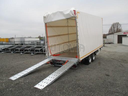 Hydraulicky sklopný přepravník VVA 6,0T 6,20x2,10/2,60* č.6