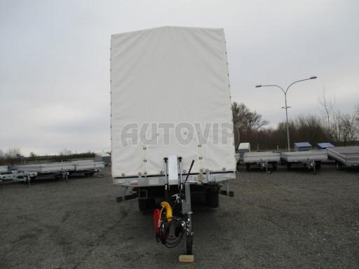 Hydraulicky sklopný přepravník VVA 6,0T 6,20x2,10/2,60* č.9