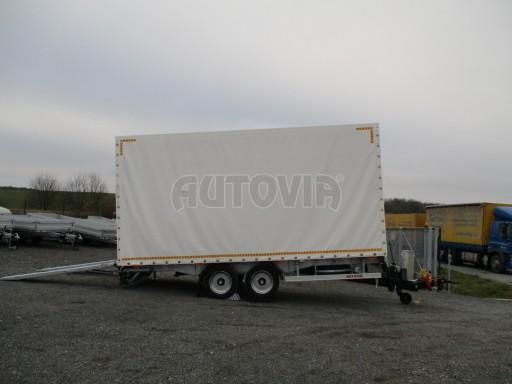 Hydraulicky sklopný přepravník VVA 6,0T 6,20x2,10/2,60* č.1
