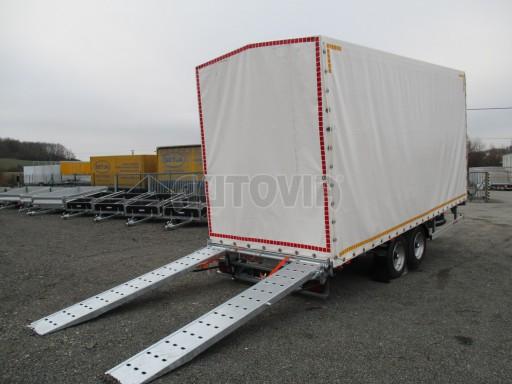 Hydraulicky sklopný přepravník VVA 6,0T 6,20x2,10/2,60* č.10