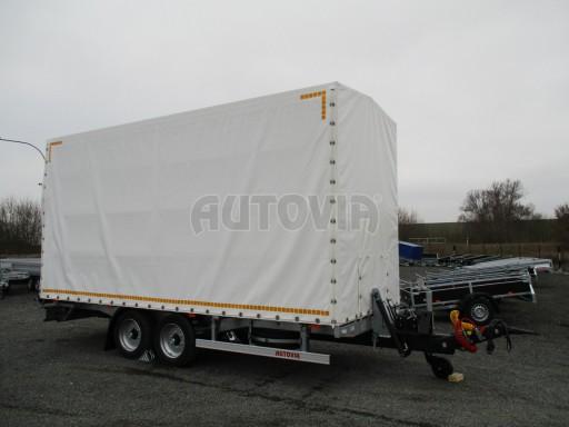 Hydraulicky sklopný přepravník VVA 6,0T 6,20x2,10/2,60* č.15