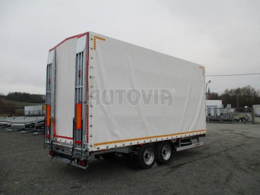 Hydraulicky sklopný přepravník VVA 6,0T 6,20x2,10/2,60* č.3