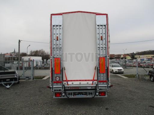 Hydraulicky sklopný přepravník VVA 6,0T 6,20x2,10/2,60* č.16