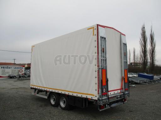 Hydraulicky sklopný přepravník VVA 6,0T 6,20x2,10/2,60* č.17