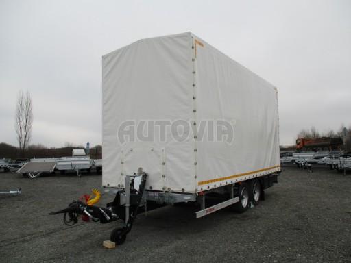 Hydraulicky sklopný přepravník VVA 6,0T 6,20x2,10/2,60* č.5