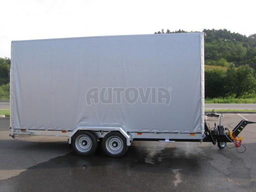 Univerzální hydraulicky sklopný přepravník VA 6,0T 6,20x1,90/2,70* č.2