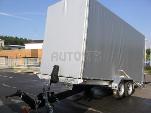 Univerzální hydraulicky sklopný přepravník VA 6,0T 6,20x1,90/2,70* č.1