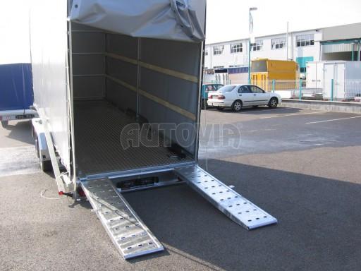 Univerzální hydraulicky sklopný přepravník VA 6,0T 6,20x1,90/2,70* č.3