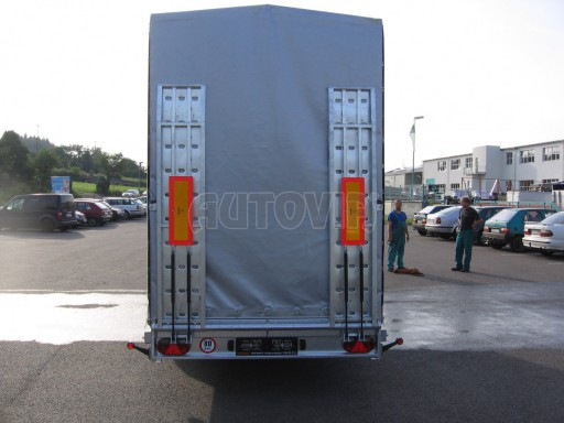 Univerzální hydraulicky sklopný přepravník VA 6,0T 6,20x1,90/2,70* č.4